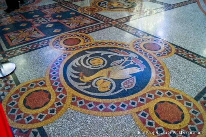 Мозаичные полы Морского Никольского собора — фото 18