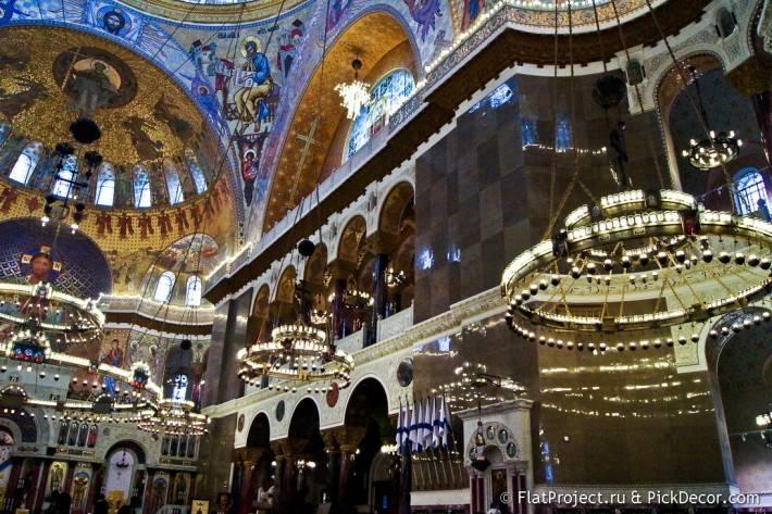 Потолки и декор Морского Никольского собора — фото 63