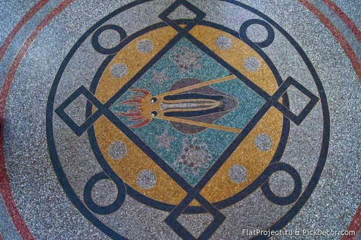 Мозаичные полы Морского Никольского собора — фото 11