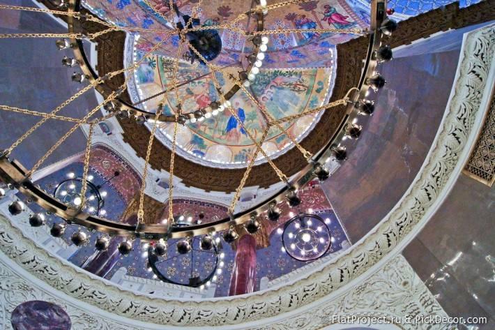 Потолки и декор Морского Никольского собора — фото 48