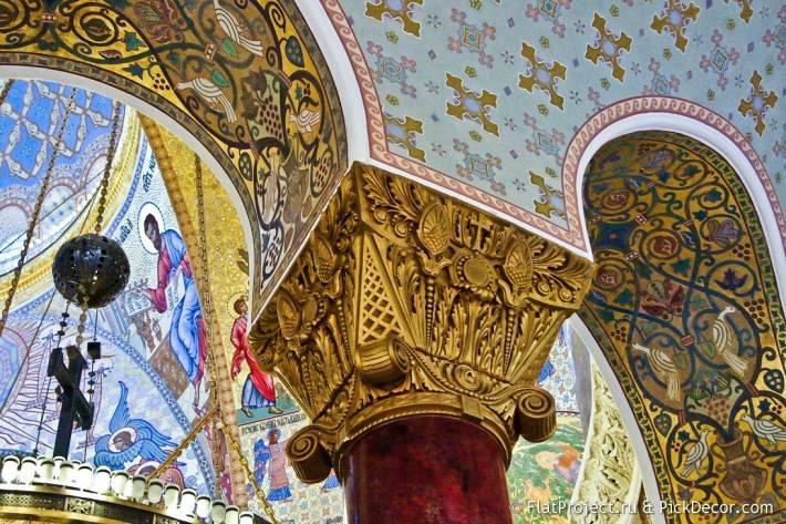 Потолки и декор Морского Никольского собора — фото 12