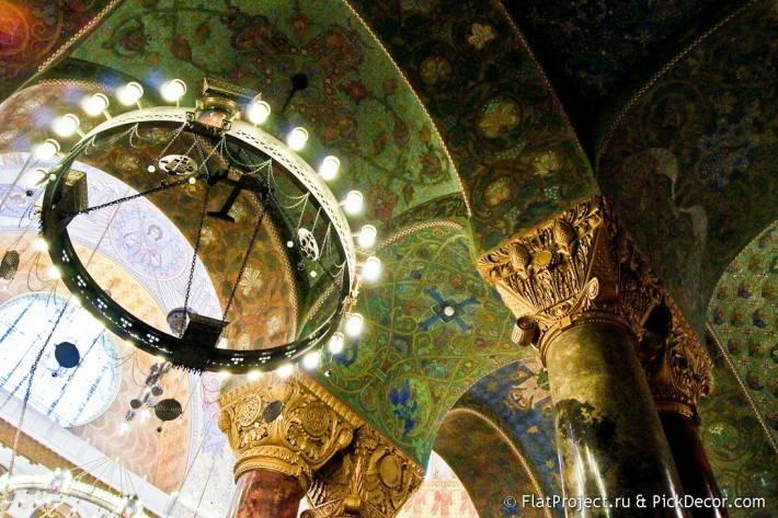 Потолки и декор Морского Никольского собора — фото 62