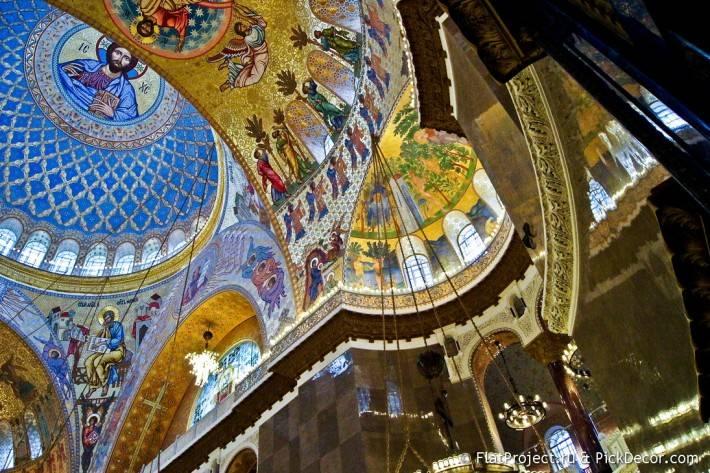 Потолки и декор Морского Никольского собора — фото 8