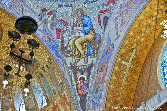 Потолки и декор Морского Никольского собора — фото 29