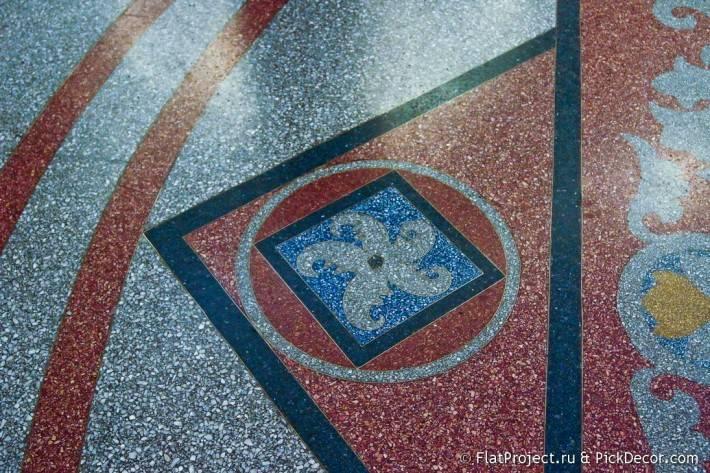 Мозаичные полы Морского Никольского собора — фото 16