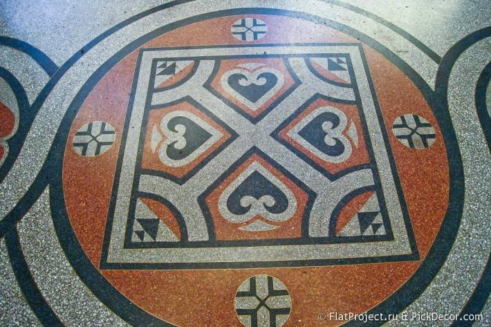 Мозаичные полы Морского Никольского собора — фото 17