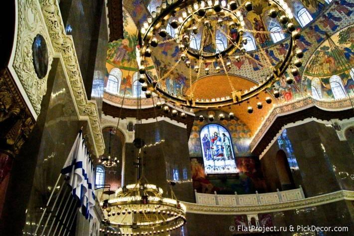Потолки и декор Морского Никольского собора — фото 45