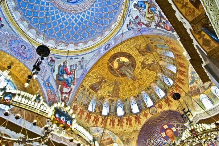 Потолки и декор Морского Никольского собора — фото 20