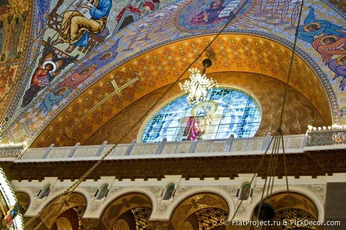 Потолки и декор Морского Никольского собора — фото 78