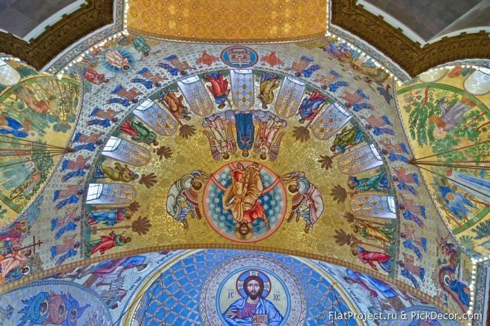 Потолки и декор Морского Никольского собора — фото 36