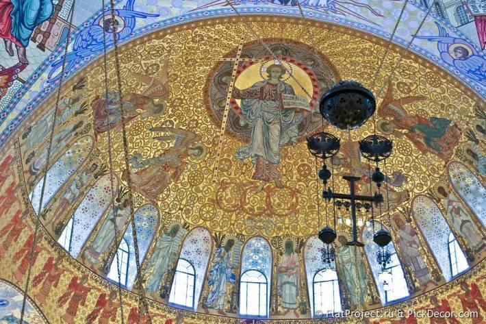 Потолки и декор Морского Никольского собора — фото 40