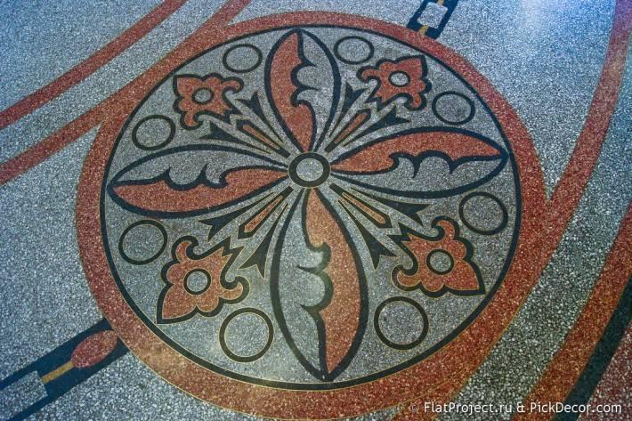 Мозаичные полы Морского Никольского собора — фото 23