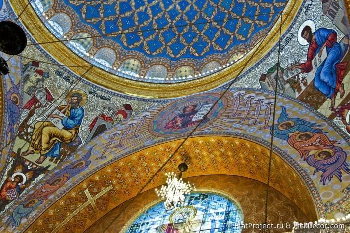 Потолки и декор Морского Никольского собора — фото 15