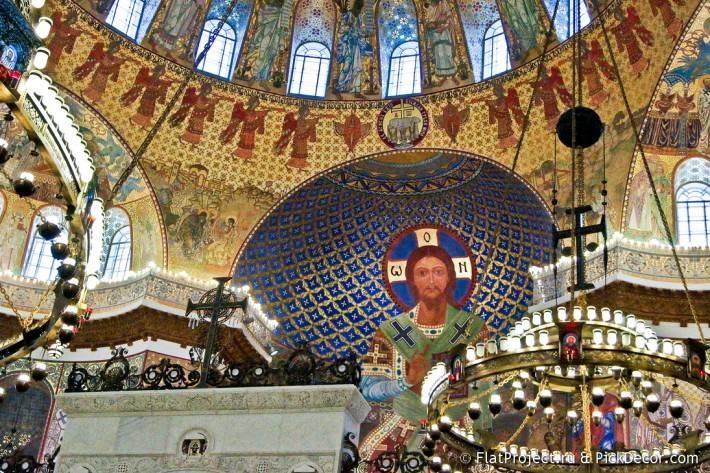 Потолки и декор Морского Никольского собора — фото 2