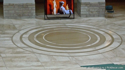 The General Staff building marble floor – photo 1