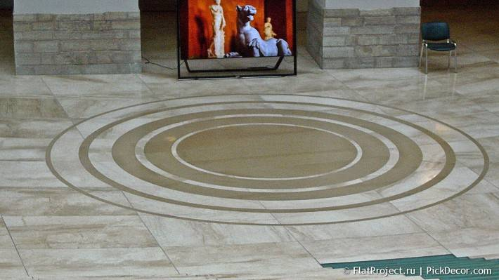 Мраморный пол в здании Главного штаба  — фото 3