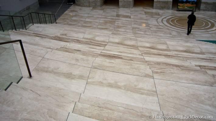 Мраморный пол в здании Главного штаба  — фото 1