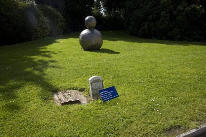 Гэри Хьюм — Спина снеговика, скульптура