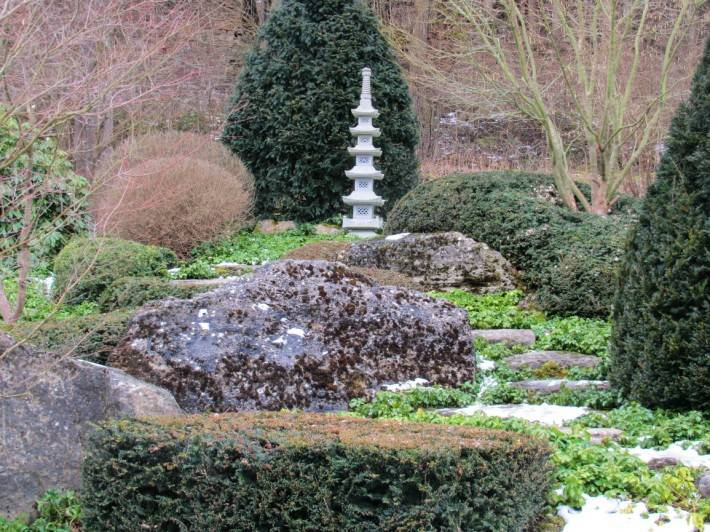 Японский медитативный сад