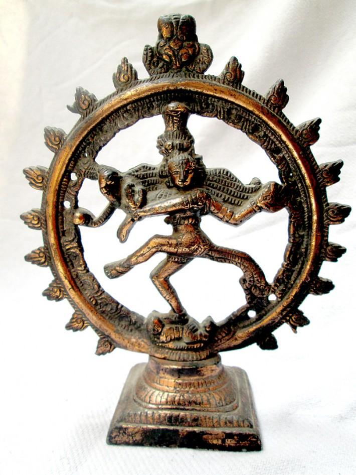 Бронзовая статуэтка Шивы