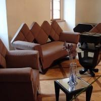 Мебель в музее книги в городе Ждяр-над-Сазавоу