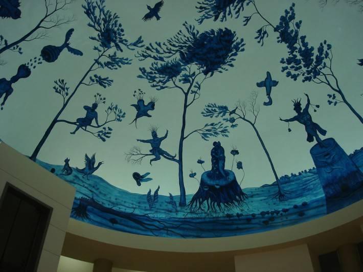 Фреска в торговом центре Хуцот ха-Йоцер — фото 5