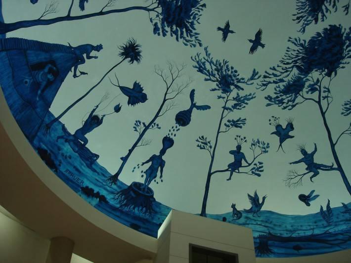 Фреска в торговом центре Хуцот ха-Йоцер — фото 4