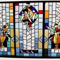 «Spring 2013» exhibition – stained glass