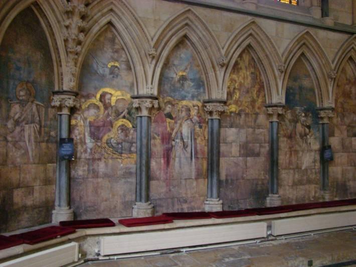 Роспись в здание капитула Линкольнского собора