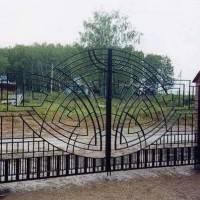 Кованные ворота от «Велес Люкс»