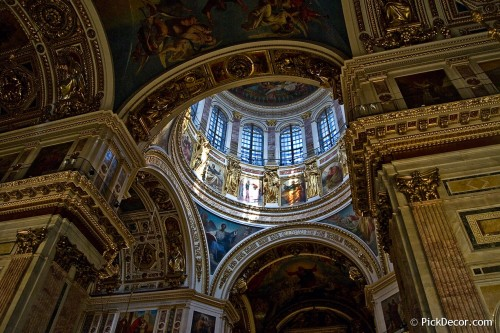 The Saint Isaac's Cathedral interiors – photo 26