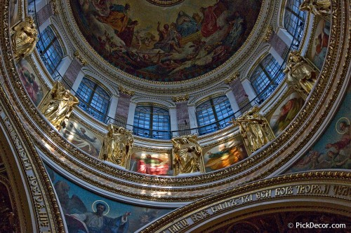 The Saint Isaac's Cathedral interiors – photo 57