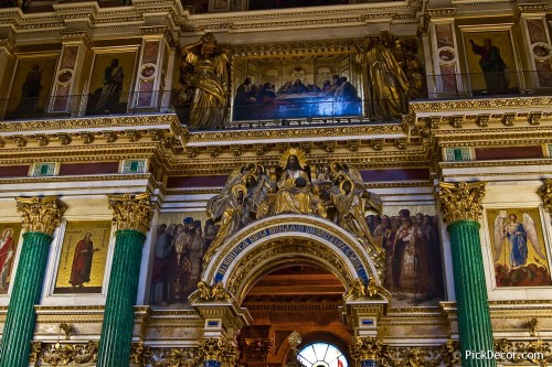 The Saint Isaac's Cathedral interiors – photo 23
