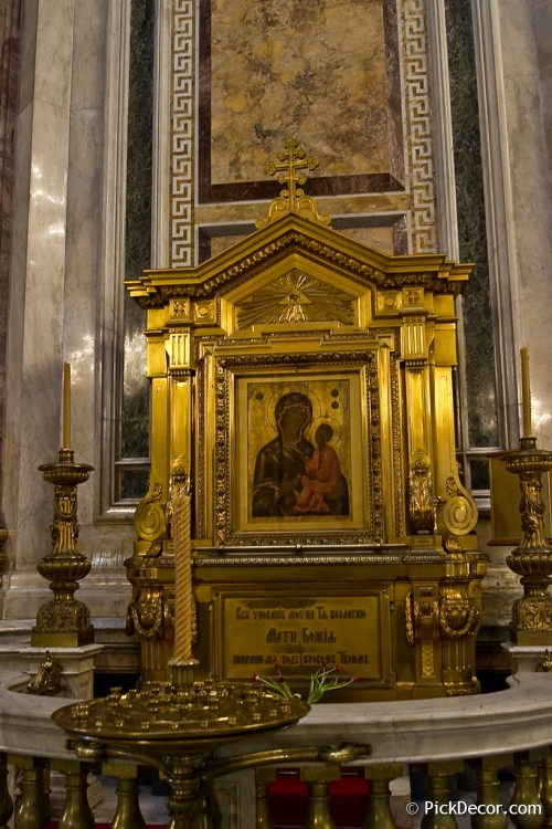 The Saint Isaac's Cathedral interiors – photo 39