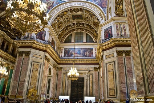 The Saint Isaac's Cathedral interiors – photo 22