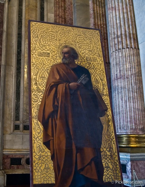 The Saint Isaac's Cathedral interiors – photo 78