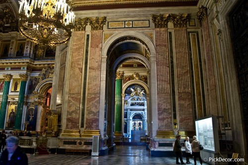The Saint Isaac's Cathedral interiors – photo 83