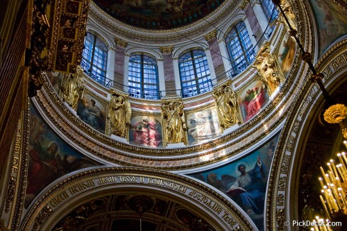 The Saint Isaac's Cathedral interiors – photo 36