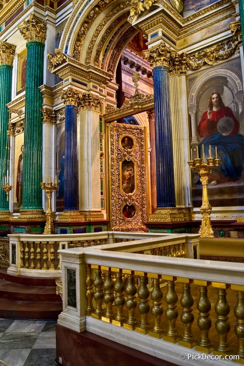 The Saint Isaac's Cathedral interiors – photo 40