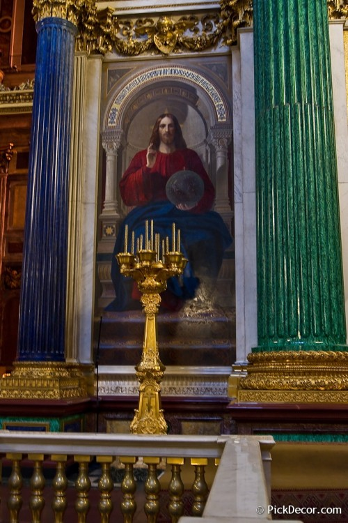 The Saint Isaac's Cathedral interiors – photo 64