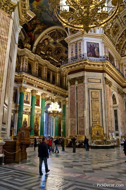 The Saint Isaac's Cathedral interiors – photo 42