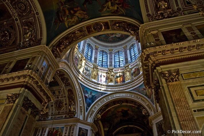 Потолки и декор Исаакиевского собора — фото 75