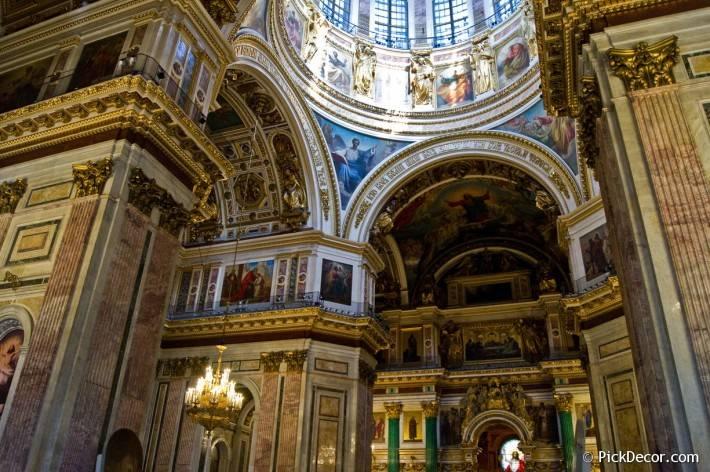 Потолки и декор Исаакиевского собора — фото 39