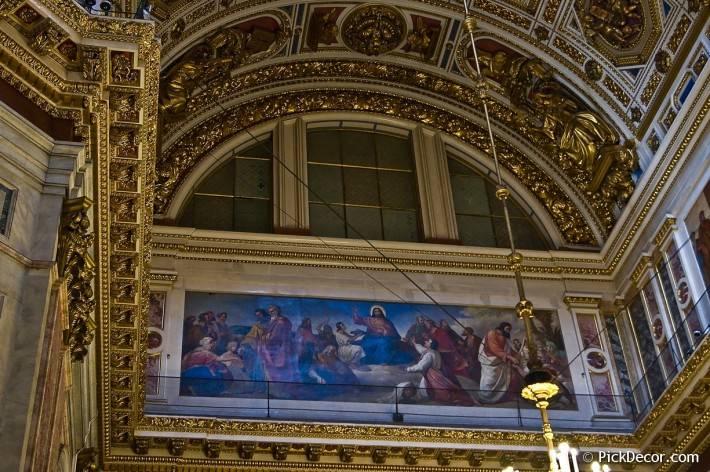 Потолки и декор Исаакиевского собора — фото 60