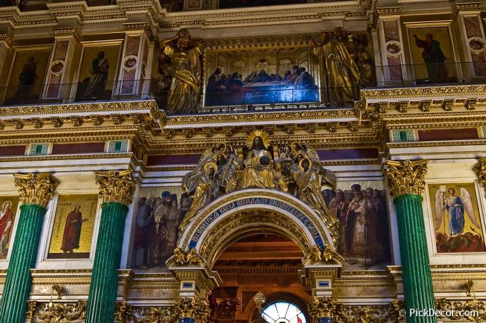 Потолки и декор Исаакиевского собора — фото 78