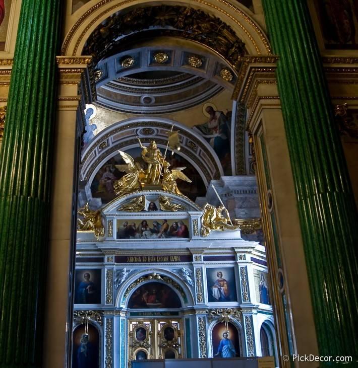 Потолки и декор Исаакиевского собора — фото 8