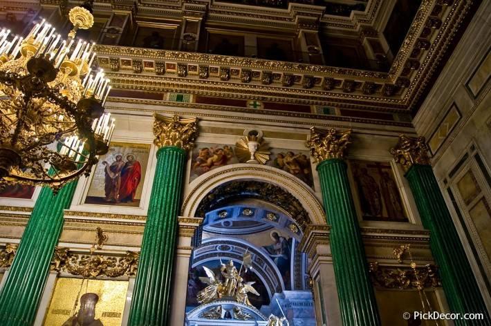Потолки и декор Исаакиевского собора — фото 43