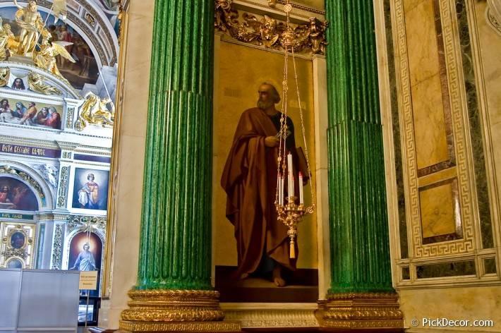 Потолки и декор Исаакиевского собора — фото 89