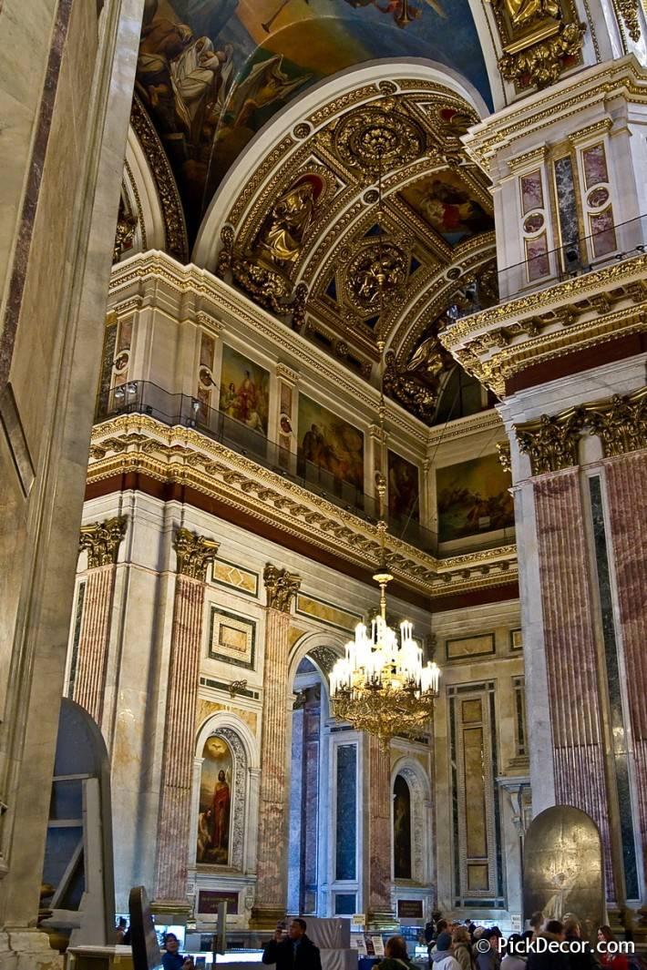 Потолки и декор Исаакиевского собора — фото 27