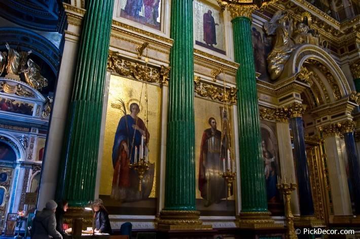 Потолки и декор Исаакиевского собора — фото 71